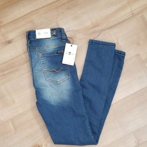 "NWT 7 For All Mankind Girl's ""the skinny"" Jeans"